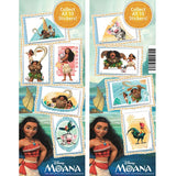 Moana stickers display