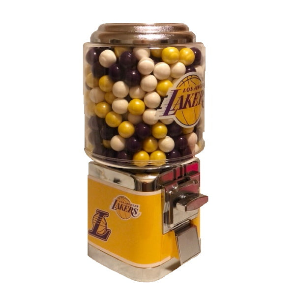 NBA Team Logo Custom Gumball Machine