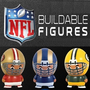 NFL Buildable Figures 2 Inch Self-Vending Toys
