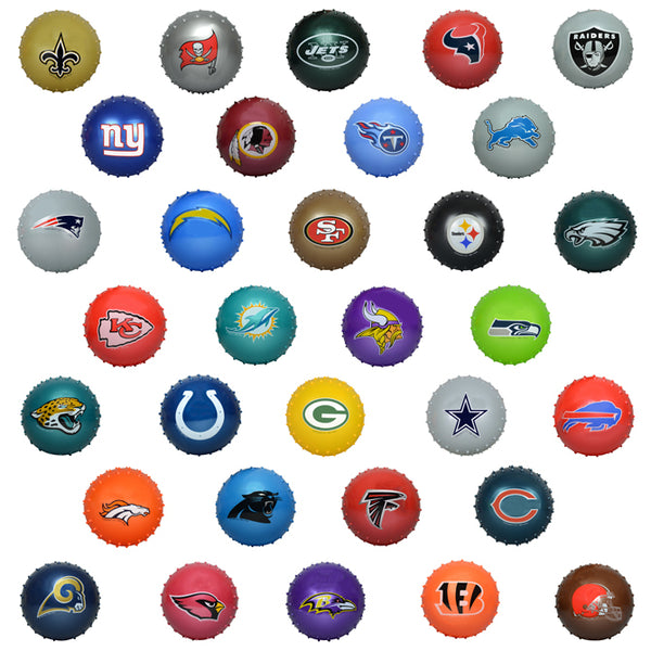 5 Inch NFL Knobby Balls product detail