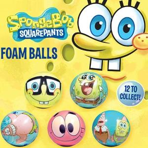 SpongeBob SquarePants Tomy Self-Vending Foam Balls