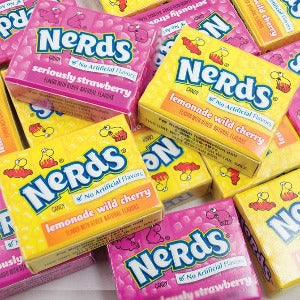 Nerds Double Dipped Mini Boxes Packaging Willy Wonka Candy Product Image