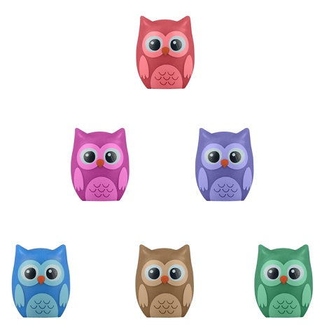 Bulk Owl Pencil Toppers 100 ct
