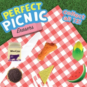 Perfect picnic erasers 1 inch vending capsules