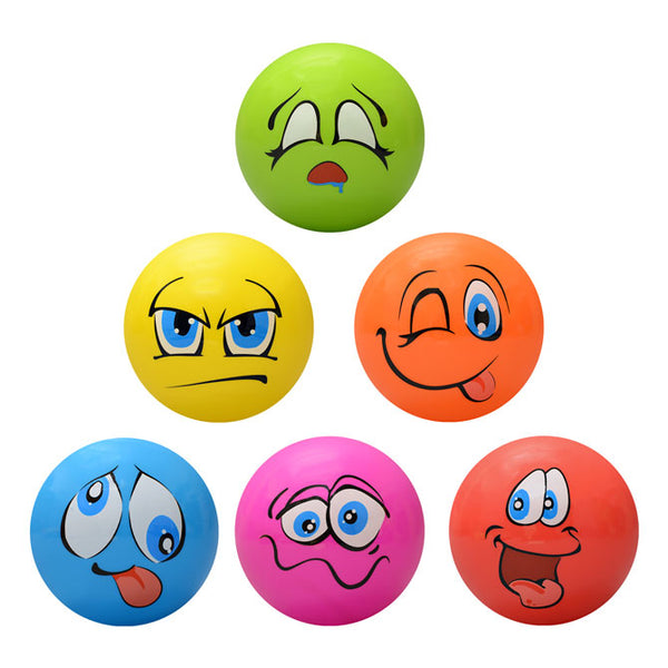 Funny Face 5 Inch Inflatable Balls product detail