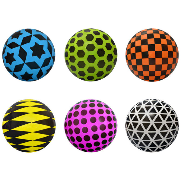 "5"" Vinyl Geometric Balls product detail"