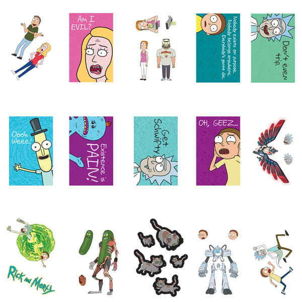 Rick and Morty Series #1 Stickers Product Detail