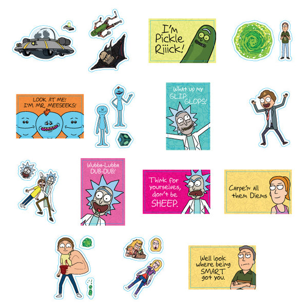 Rick and Morty Series #2 Stickers Product Detail