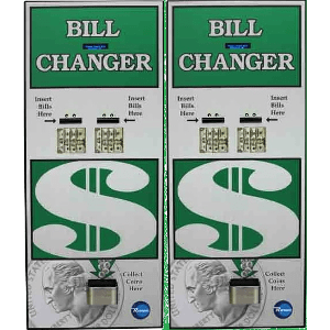 BC3200 Rear Load Bill-to-Coin Change Machine Product Image