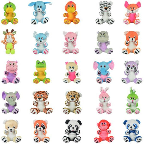 100% Non-Licensed Small Plush Mix 144 ct Product Image