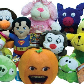 Pop Culture 16% Licensed Small Plush Mix - 144 ct