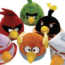 Angry Birds Space Medium Plush Mix - 144 ct