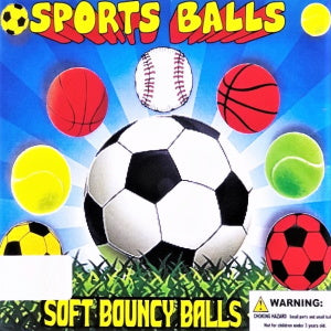 "Sports Balls 2"" Self-Vending Toys Product Image"