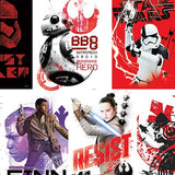 Star Wars: Episode VIII the Last Jedi Vending Stickers
