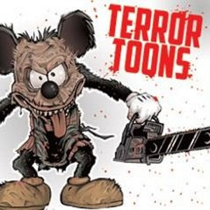 Terror Toons Tattoos in vending folders