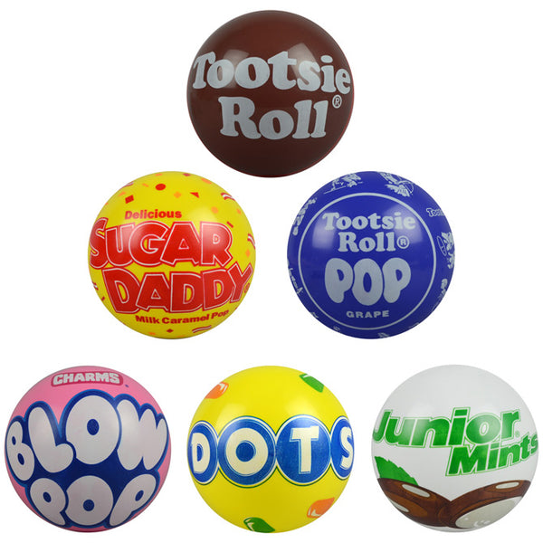 "Tootsie Candy brand 5"" Vinyl balls product detail"