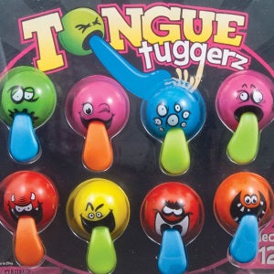 Tongue Tuggerz 2 Inch Toy Capsules