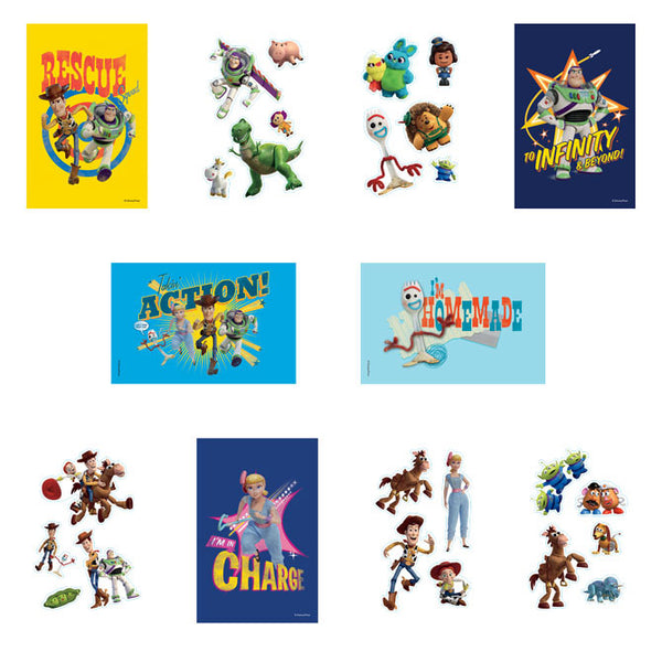 Toy Story 4 Stickers Product Detail