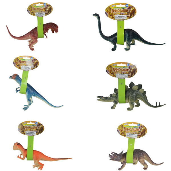 10 Dinosaur with Hang Tag assortment