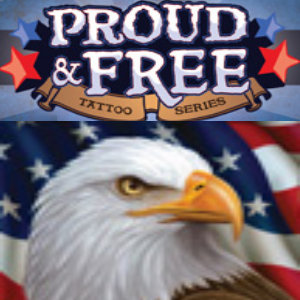 Proud & Free Temporary Tattoos