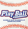 play ball baseball gumballs one inch 850 count product display