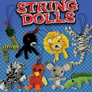 Animal String Dolls 2 Inch Toy Capsules