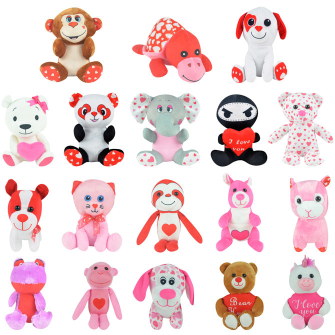 Valentine's Day Generic Small Plush Mix 144 ct Product Image
