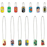 Bulk DC Comics Dog Tags 100 ct