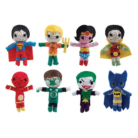 DC Comics String Dolls produce detail