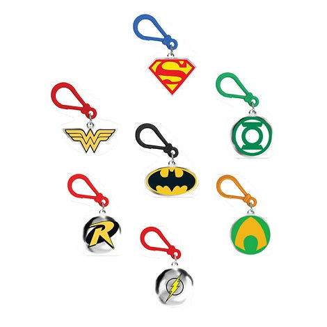 DC Comics Backpack Clips