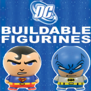 "DC Comics Buildables 2"" Toy Capsules"