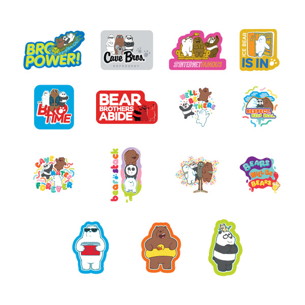 Cartoon Network We Bare Bears Stickers product detail