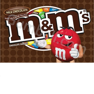 MMs Plain Vending Labels