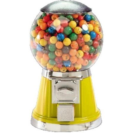 Yellow LYPC Big Bubble Gum & Candy Machine