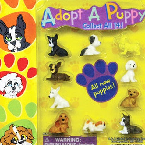 Adopt A Puppy 2 Sided Display Card