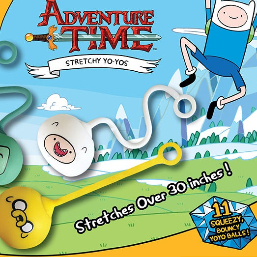 Adventure Time 2 inch stretchy yoyo capsules