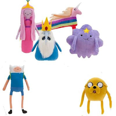 Adventure Time Jumbo Plush Mix - 48 ct