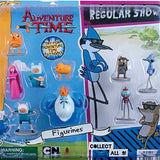 Adventure Time and Regular Show Figurines 2 Inch