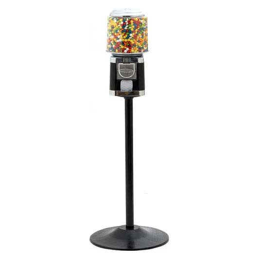 All Metal Gumball Machine with Stand