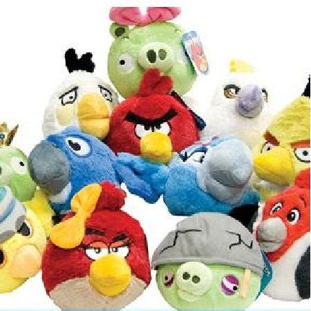 Angry Birds Rio Small Plush Mix - 144 ct