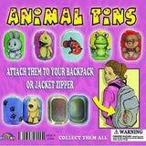 Animal Tins 2 Inch Toy Capsules