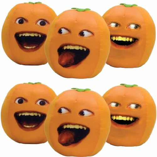 Annoying Orange with Sounds Small Plush - Single Piece