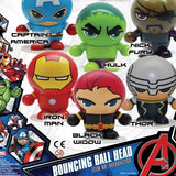 Avengers Bouncing Ball Head figurines