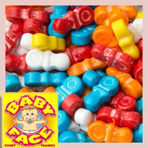 Baby pacifier candy bulk