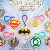 DC Comics Backpack Clips in 2