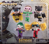 Batman string dolls 2 inch capsules display