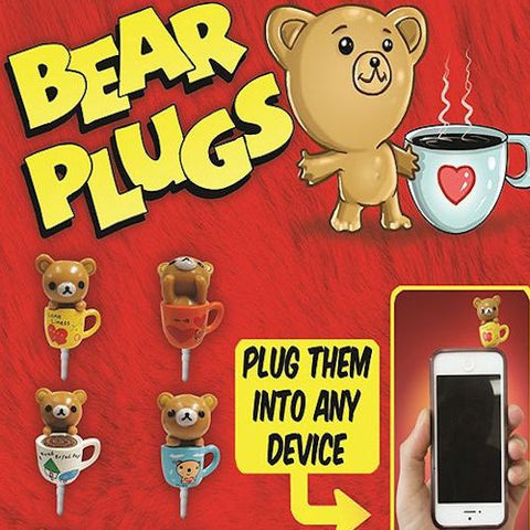 Bear Plugs 2 Inch Toy Capsules