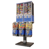 Beaver 5 head combinatin bulk vending machine