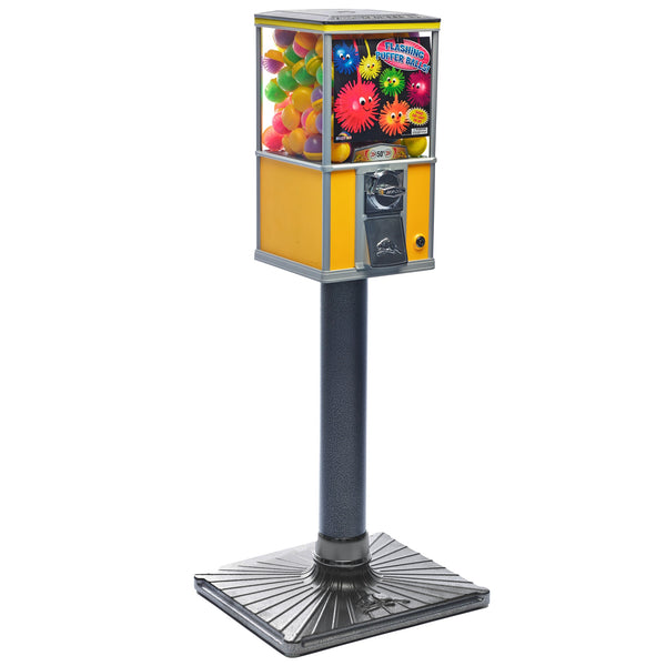 Detailed image of Beaver BS240 four-inch diameter pipe stand for capsule vending machine