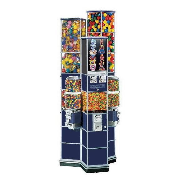 Deluxe II Tri-Tower Vending Machine